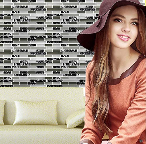 Wandaufkleber Pet 3D DIY Wanddekor Geprägte Ziegelstein Fliesen Anti-Schimmel Peel Und Wandaufkleber Aufkleber Muraux Wanddekor Adesivi Murali