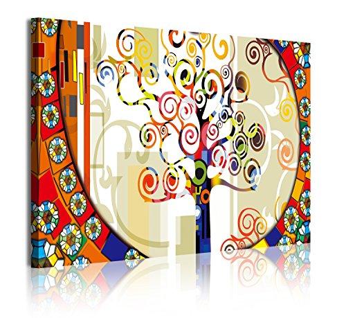 DekoArte 303 - cuadro moderno 1 pieza arbol vida estilo