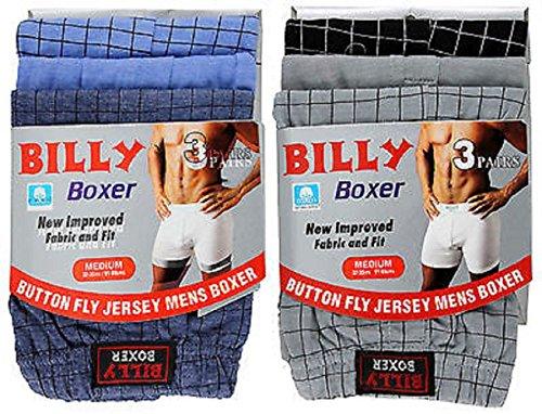 (FF11)3,6,9,12 PAIRS BIG SIZES MEN BUTTON FLY BILLY BOXER ,sizes-2XL,3XL,4XL,5XL