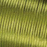 Flechtkordel-Satin Kumihimo 2,0mm 1 Pack = 6 Meter grün