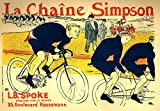 The Poster Corp H. de Toulouse-Lautrec - La Chaine Simpson