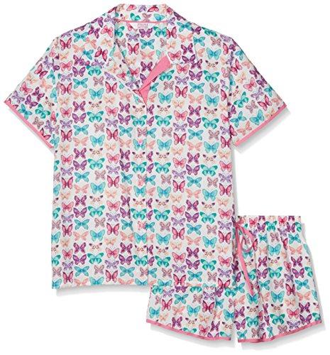 Cyberjammies Mädchen Zweiteiliger Schlafanzug Butterfly, Mehrfarbig (Multicoloured), 116 ( Preisvergleich