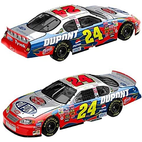 2003 Jeff Gordon #24 Dupont Monte Carlo Victory Lap Winston Cup Champion Logo Special Edition 1/24th Scale Action Racing Collectables ARC Limited Edition Only 14592 Made, Hood Opens Trunk Opens HOTO by Action Racing