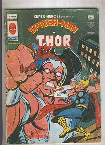 SUPER HEROES numero 97: SPIDERMAN