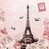 ServietteLetter to Paris 20 Stück