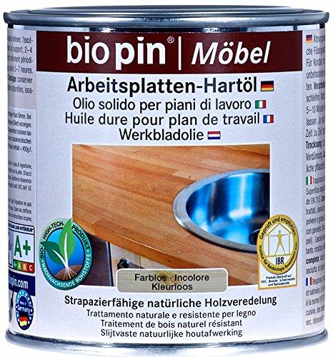 Arbeitsplatten-Hartöl (0,375 Liter, farblos)