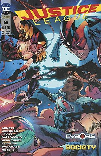 Justice league: 56