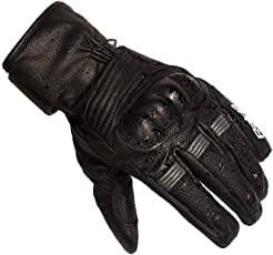 Raida RainX Motorcycle Riding Gloves (L, Black)