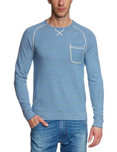 Volcom Herren Sweatshirt Stand Not Sweater, True Blue, M, A0711402TRB