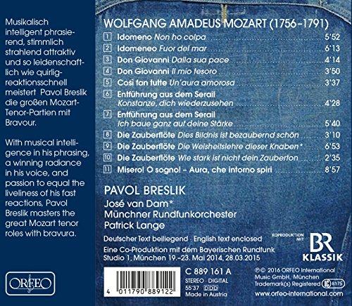 P. Breslik / Récital Mozart