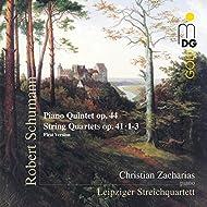 Schumann: Piano Quintet, Op. 44 & String Quartets, Op. 41, 1-3