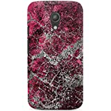 Motorola Moto G2 Hülle Premium Case Cover Stein Struktur Muster Look