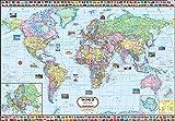 World Map ( 140 x 100 cm )
