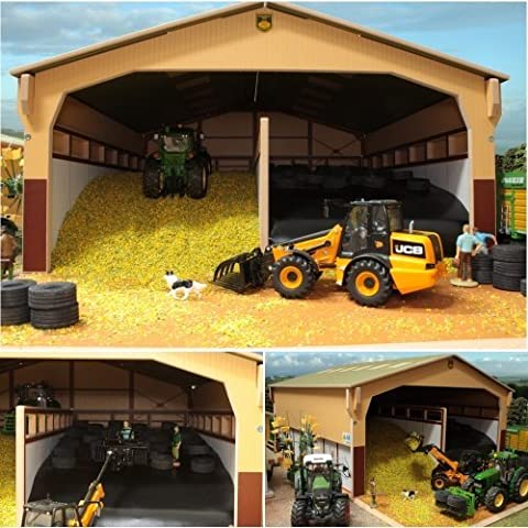 BRUSHWOOD Toy Farm BT8950 Cover To Monster Silage Clamp scale 1:32 by Brushwood
