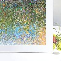 Vinilos Para Cristales Zindoo Vinilo de Ventana Pegatina Ventana Vinilos Decorativos Cristales Para El Cristal De Ventanal De Baño Cocina Oficina Control De Calor y Anti UV (44.5*200cm)