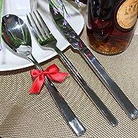Anself Nuovo stile mini Bowknot articoli per la tavola di Natale Ornamenti di Natale Decorazione 8Pcs / LOT