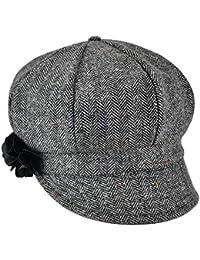 LXMDCAPA Sombrero Espiga De Mujer Gorro De Vendedor De Periódicos Mamá Dama Gorras  De Algodón Mezcla Sombrero Suave Chica… 5fa263f5745