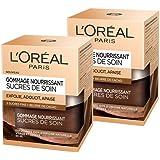 L'Oréal Paris – Gommage Nourrissant Pour Le Visage et Les Lèvres – Sucres de Soin – 50 ml