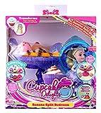Cupcake Suprise 34660 - Spielset Banana Split, mit duftenden Muffin der sich in eine wunderschöne Prinzessin verwandelt, Bananensplit verwandelbar in tolle Zubehöre, Puppen Set für Kinder ab 4 Jahre