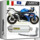 Arrow Auspuff Komplett Hom Racetech Aluminium Suzuki GSX-R 100020121220131371791AO + 71462Ich