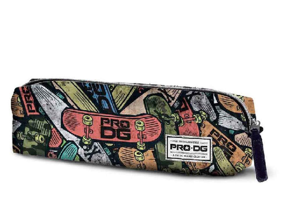 Estuche escolar de 22 cm, diseño vintage Skate Pro Dg