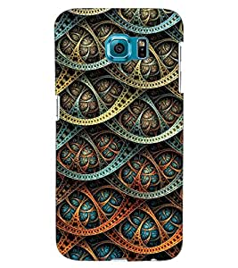 ColourCraft Beautiful Pattern Design Back Case Cover for SAMSUNG GALAXY S6