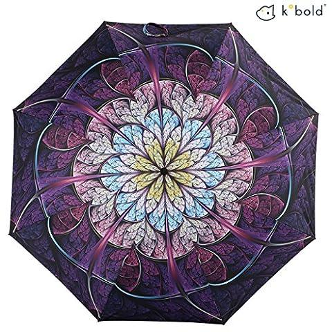 Kobold, Parapluie pliants Fille Femme Bébé fille violet violet L