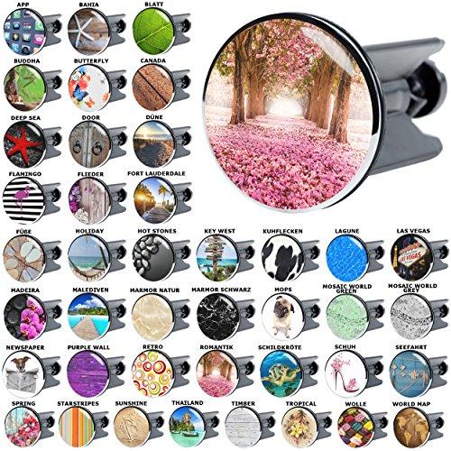 Waschbeckenstöpsel Romantik, viele schöne Waschbeckenstöpsel zur Auswahl, hochwertige Qualität