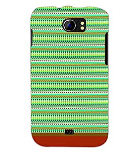 PrintDhaba Tribal Pattern D-1720 Back Case Cover for MICROMAX A110 CANVAS 2 (Multi-Coloured)