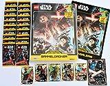 Lego Star Wars Sammelkarten Serie 1 - Sammelordner + 20 Booster + 6 Karten Limitierte Edition