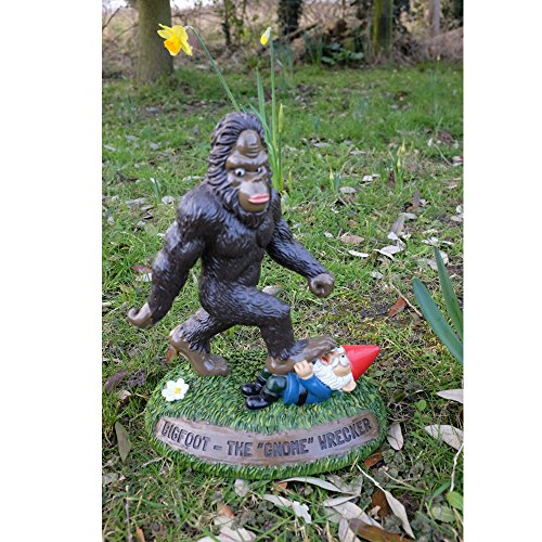 Etonnant Big Mouth Bigfoot The Gnome Wrecker Garden Statue