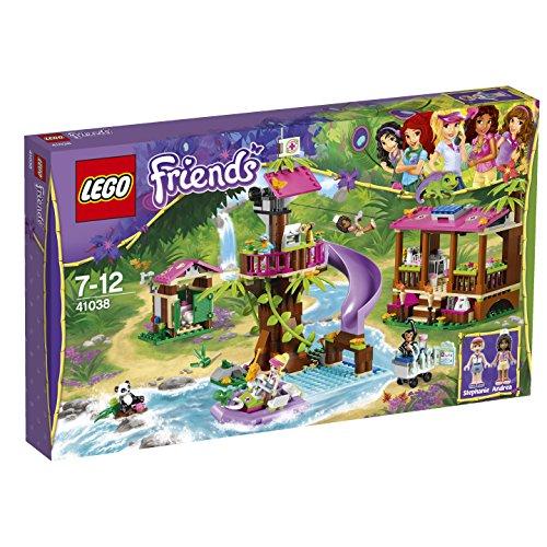 LEGO FRIENDS- SELVA  LA BASE DE RESCATE DE LA JUNGLA (41038)