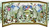 Schöne Winterzeit - Nostalgischer Schiebekalender: Adventskalender
