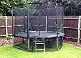 Cortez Premier 12ft Trampoline with Enclosure and Ladder