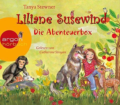Liliane Susewind - Die Abenteuerbox: Inhalt: Rückt dem Wolf nicht auf den Pelz!, Ein Panda ist kein Känguruh, Schimpansen macht man nicht zum Affen, Ein kleines Reh allein im Schnee (H Ist Für Pferd)