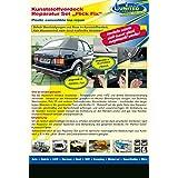 reparación renovar coche descapotable para carpas toldos o lona y plástico NERO