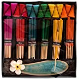 Jones Home and Gift Set de bâtons d'encens Couleur Arc-en-Ciel Multicolore
