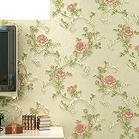 koreanische pastorale romantik tapeteschlafzimmer wohnzimmer tv wand hintergrundpapier3d vliestapete a - Tapete Schlafzimmer Romantisch