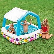 لعبة حمام سباحة مع مظلة قابلة للنفخ للاطفال من انتيكس 57470