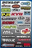 Autocollants Stickers MX FX Deco Motocross VTT ... Planche de 29 stickers