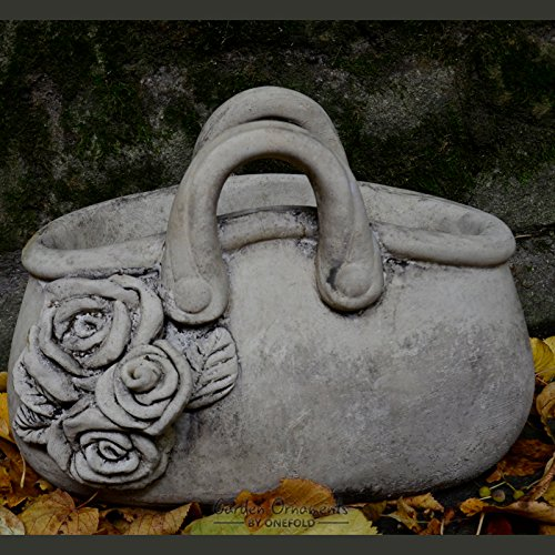 handbag-hand-cast-stone-garden-ornament-flower-pot-planter-basket