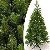 Weihnachtsbaum 140cm künstlich mit Ständer - Tannenbaum Christbaum