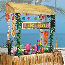 Barra hawaiana de choza Tiki 241205 de Amscan Internacional