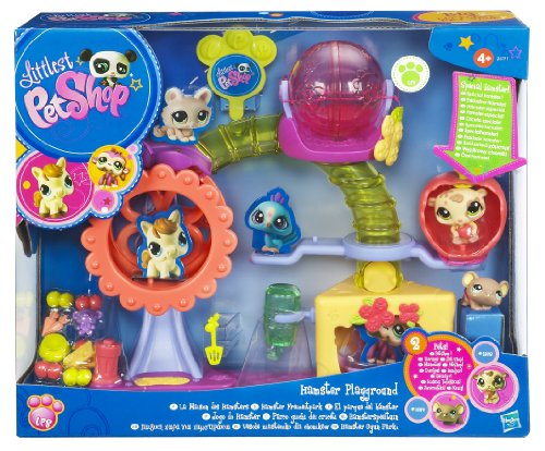 Hasbro - Littlest Pet Shop 24791148 - Littlest Pet Shop - Hamster Freizeitpark (Pet Shop-hamster Little)