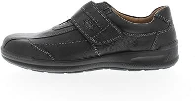 Jomos 419206EA37000 - Scarpe basse da uomo con velcro, misura H, colore: Nero