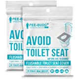 Peebuddy Disposable Toilet Seat Covers (20 sheets * 2 packs) | No Direct Contact with Unhygienic Seats| Easy To Dispose…
