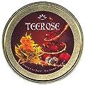 TEEROSE - Teeblumen Geschenkset Xmas-Edition für Weihnachten, 6 Teerosen in goldfarbener Metalldose, Grüner Tee mit Rosenknospen, Jasmin, Ringelblume und Hibiscus von Teerose Shop auf Gewürze Shop