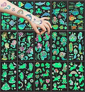 15 hojas Tatuajes Temporales para