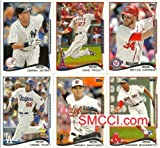 Best Topps Hands - COMPLETE 2014 TOPPS SERIES ONE BASBALL CARD SET Review