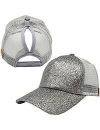 Amazon.es  Plateado - Gorras de béisbol   Sombreros y gorras  Ropa 4fc7664a4f6